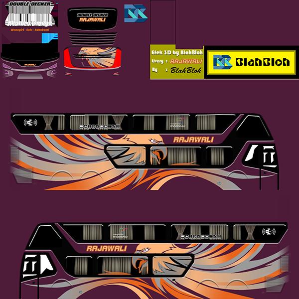 Livery BUSSID Bus Bimasena SDD - Rajawali - Livery-BUSSID.com