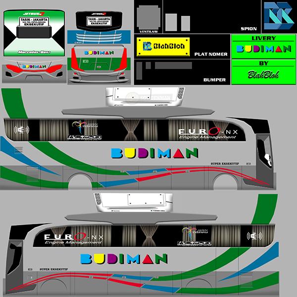 Livery BUSSID Bus HD Ori - Budiman - Livery-BUSSID.com