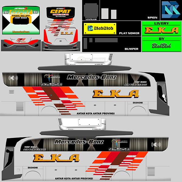 Livery BUSSID Bus HD Ori - Eka - Livery-BUSSID.com
