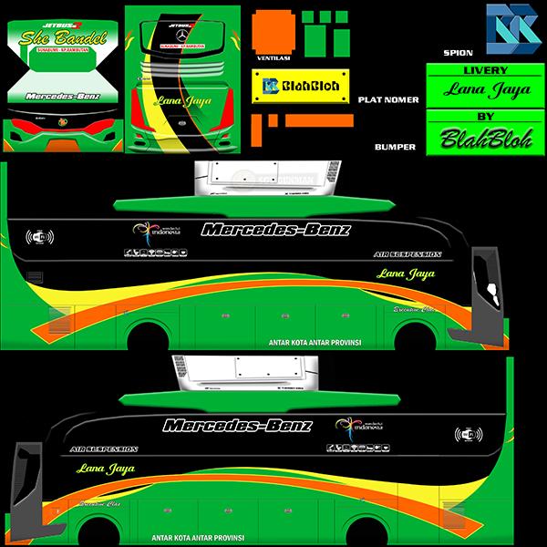 Livery BUSSID Bus HD Ori - Lana Jaya - Livery-BUSSID.com