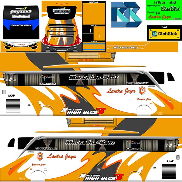 Livery BUSSID Bus Jetbus 2 SHD - Lantra Jaya - Livery-BUSSID.com
