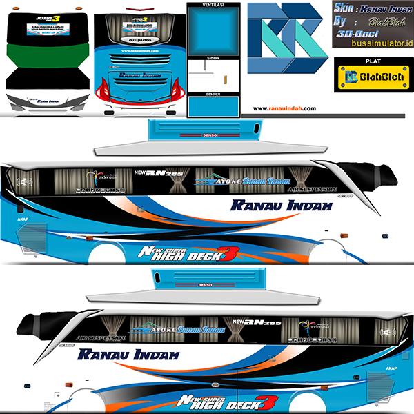 Livery BUSSID Bus Jetbus 2 SHD - Ranau Indah - Livery-BUSSID.com