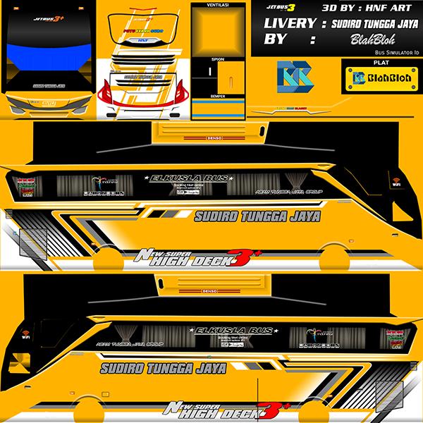 Livery BUSSID Bus Jetbus 2 SHD - Sudiro Tungga Jaya - Livery-BUSSID.com