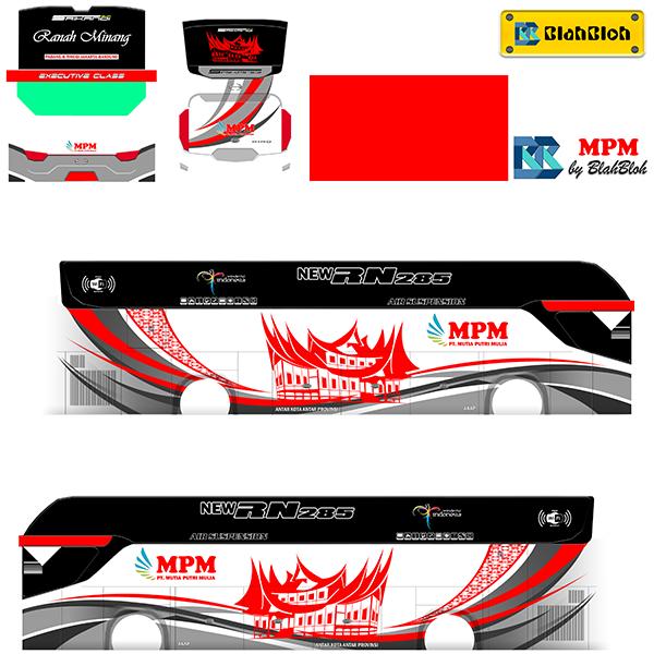 Livery BUSSID Bus Srikandi SHD - MPM - Livery-BUSSID.com