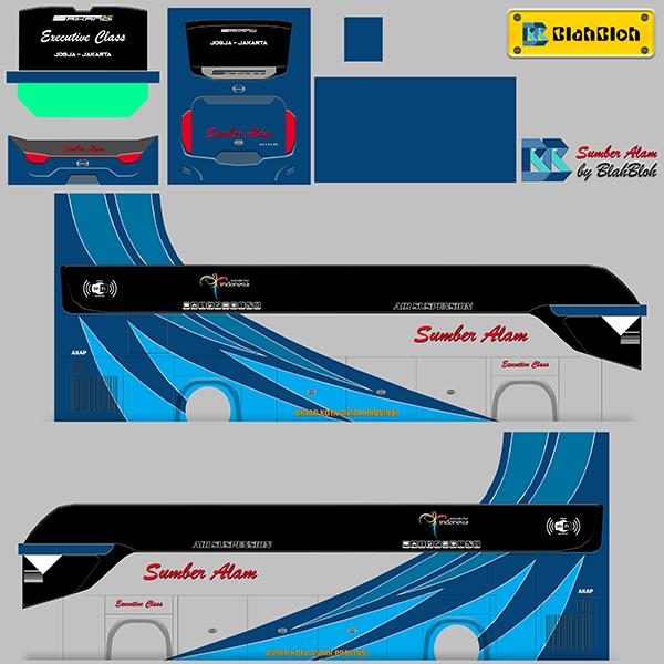 Livery BUSSID Bus Srikandi SHD - Sumber Alam - Livery-BUSSID.com