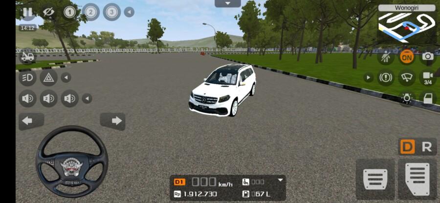 8500 Mod Bussid Mobil Polisi Mercedes Benz HD Terbaru